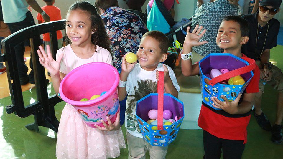 Celebran la Pascua en el Museo del Niño de Carolina