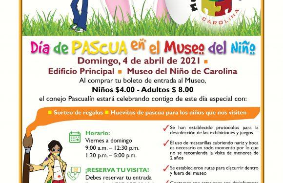 Día de Pascua en el Museo del Niño